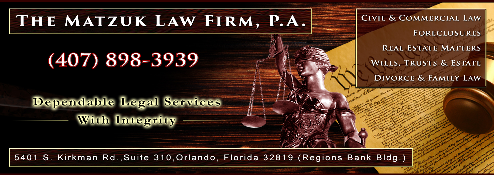 Orlando Attorney - Lawyer, Stephen P Matzuk